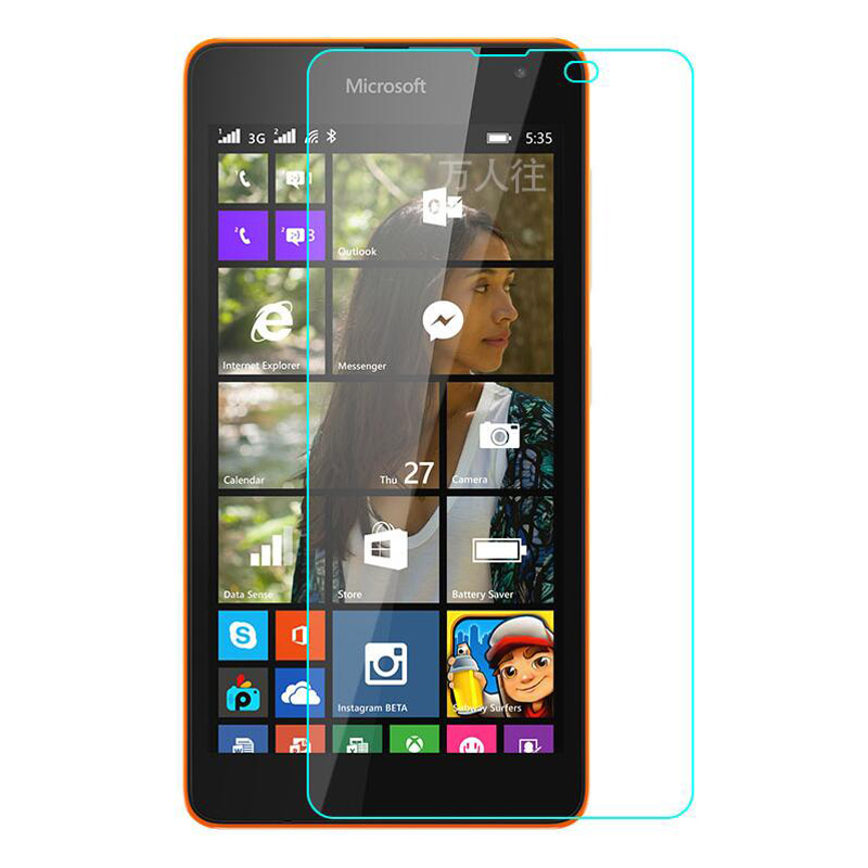 9H Tempered Glass Screen Protector For Nokia Lumia 530 532 535 550 630 640 640XL 650