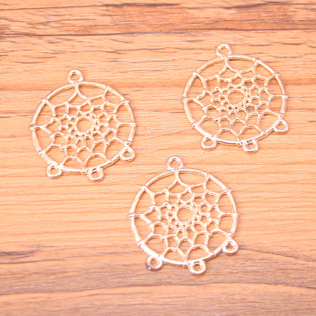 9pcs catcher chandelier charms for necklace jewelry making gold 9pcs catcher chandelier charms for necklace jewelry making gold charm 3428mm mozeypictures Gallery