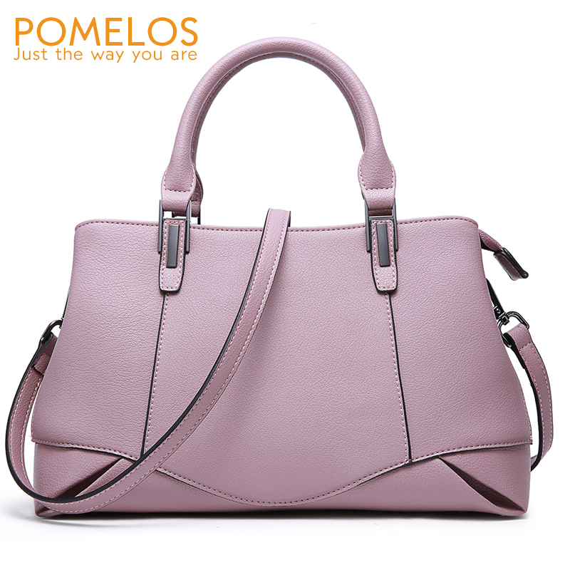 POMELOS Bags For Women 2018 New Style Handbag Women Leather Handbags Shoulder Bag Womens Fashion Luxury Brand Evening Party Bag