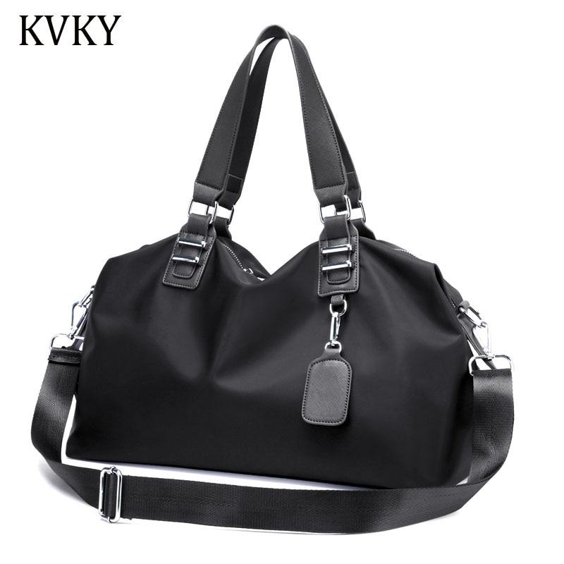 KVKY Fashion Designer Women Handbags Female Nylon oxford Bags Portable Shoulder Bag Office Ladies Totes Bag Bolsas Femininas женские блузки и рубашки hi holiday roupas femininas blusa blusas femininas