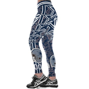 Unisex Football Team Cowboys 00 Print Tight Pants Workout Gym Training Running Yoga Sport Fitness Exercise Leggings Dropshipping 1