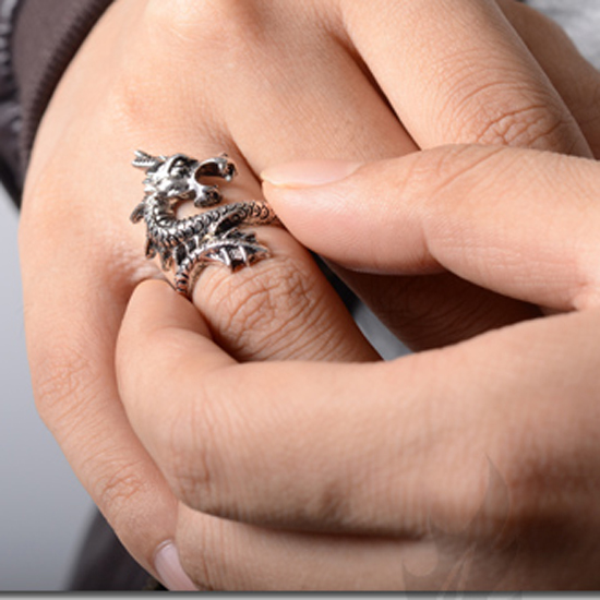 Punk Retro Exaggerated Rings for Men