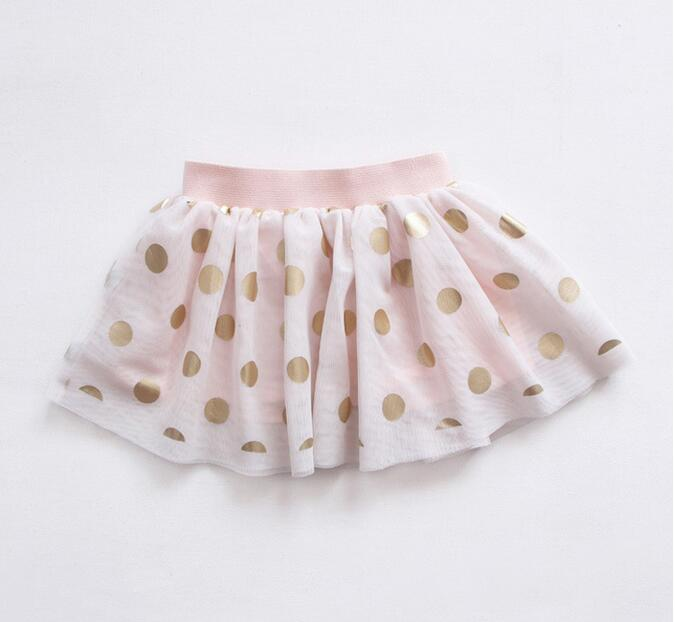 Y17025 Retail Fashion Baby Girl Skirts Dot Lolita Girl Skirt Cute Girl Clothes Lolita