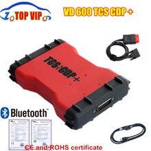 2016,00 новейший VD600 VD TCS CDP PRO Plus Bluetooth + цветная коробка + черная сумка + многоязычный для автомобилей и грузовиков авто сканер