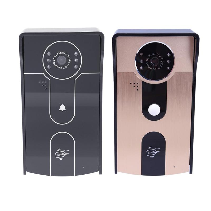 720P Wireless WiFi HD Video Doorbell Smart Home Intercom Camera Night Version IR Motion Detection Alarm for Android IOS Phone new door intercom ip doorbell with 720p camera video phone night vision ir motion detection alarm for ios android wifi doorbell