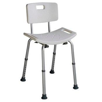 asiento para ducha Bano taburete Silla ajustable la altura 69-86 cm BA6930