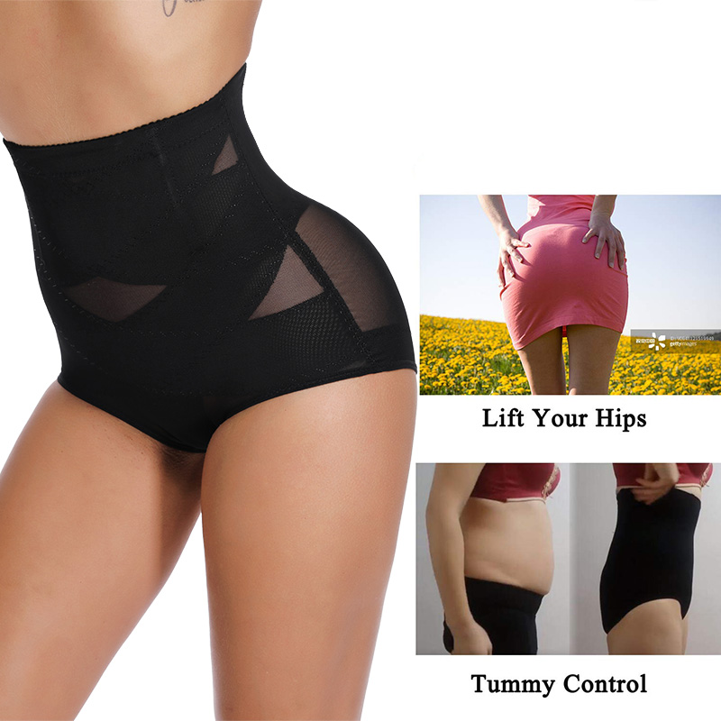 Miss Moly Women Sexy Waist Trainer Panties Lingerie Control Pants Slimming Shaperwear Waist Cincher Shaper Bodysuit in Control Panties from Underwear Sleepwears