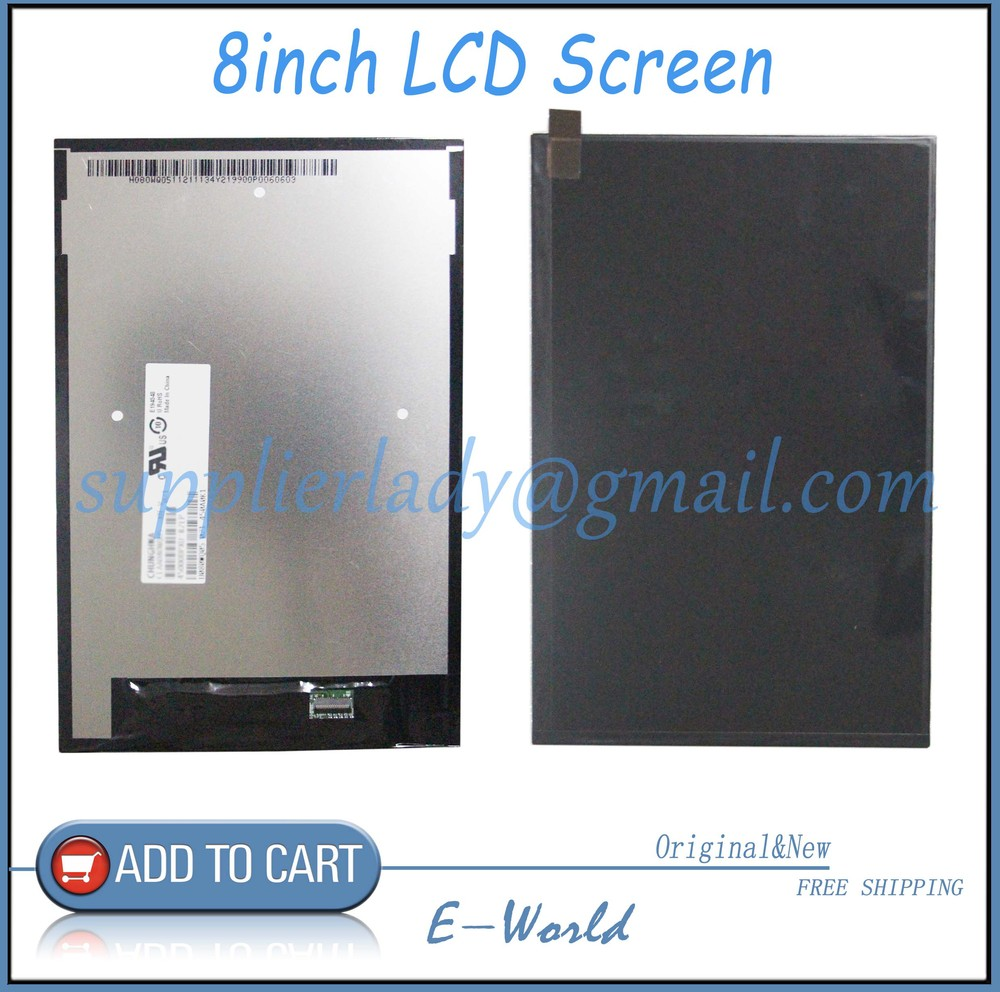 Original and New 8inch LCD Display Screen Panel CLAA080WQ05 XN V Repair Parts Replacement For Lenovo A5500 A8-50 Free shipping replacement lcd display for lenovo a8 50 tablet a5500
