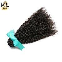 KL Hair Brazilian Kinky Curly Virgin Hair Bundles 100 Human Hair Weaving Natural Color 8 28