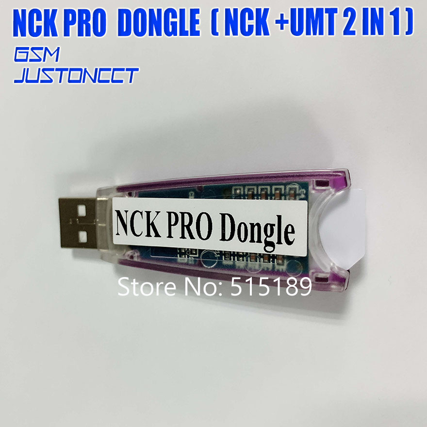Gsmjustoncct 100% D'origine NCK Pro Dongle NCK Pro2 Dongl nck clé NCK DONGLE + UMT DONGLE 2 in1 expédition rapide