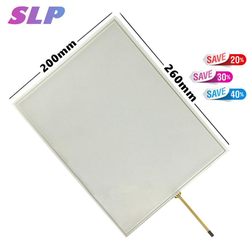 Skylarpu 12.1 inch 4:3 4 wire Resistive Touch Screen Panel For Machines industrial medical equipment 260*200 260mm*200mm TouchSkylarpu 12.1 inch 4:3 4 wire Resistive Touch Screen Panel For Machines industrial medical equipment 260*200 260mm*200mm Touch
