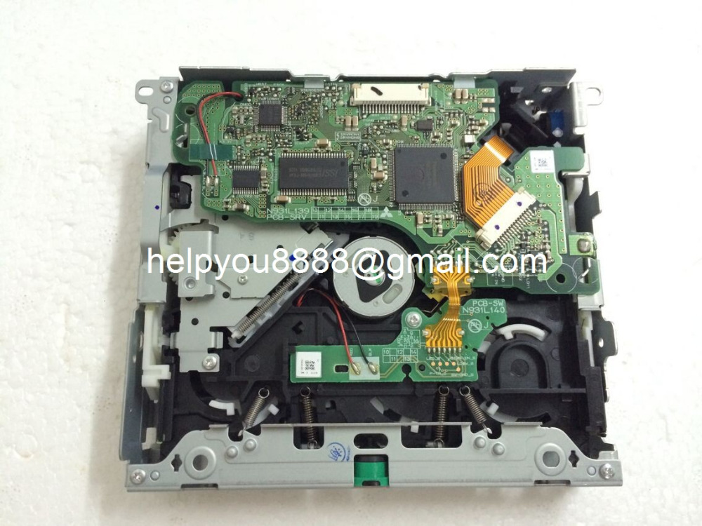 Wholesales Car CD mechanism OPT-726 loader deck PCB-SRV N931L139 drive for Hond-a City car CD audio systems