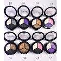 3 Mixed Colors Women Beauty Comestic Eyeshadow Brighten Long Lasting Makeup Eye Shadow Waterproof