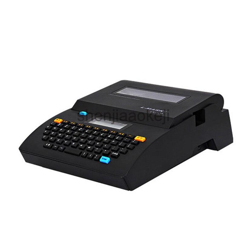 Câble ID Imprimante + Peut Se Relier PC Électronique Lettrage Machine PVC Tube Imprimante Marque de Fil Machine LK-320P/LK-320 Ligne marque imprimante