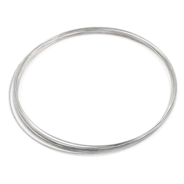 MJARTORIA Charming 100 Hohe Qualität Loops Speicher Draht Halskette ...