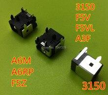 Wholesal 3x для asus 3150 f5v f5vl a3f a6m a6rp f5z сила dc jack разъем 2.5 мм