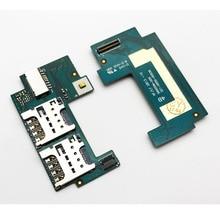 New Sim Card Reader Flex For Sony Xperia C S39H S39C C2305 C2304 Sim Card Board In Mobile