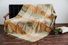 2016 Cotton Fringed Vintage Baby Blanket Throws on Sofa/Bed/Plane Travel Plaids Hot Emergency Knitted Vintage Blanket