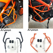 Arunnon Motorcycle Crash Bar Frame Engine Protection Guard Bumper For KTM DUKE390 DUKE250 Duke 250 390 2017 2018 Anti-fall