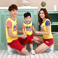2017 parent-child family look matching outifts fashion summer mage mouse cotton child clothes t-shirt mother son daughter jd007