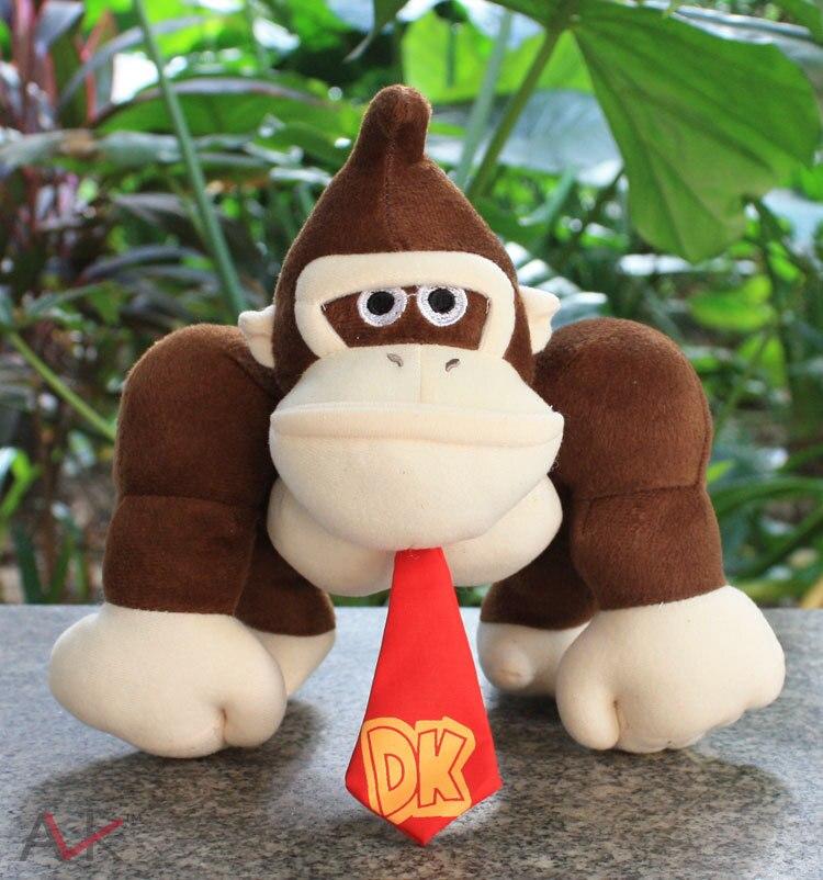 Super Mario King Kong En Peluche En Peluche Jouets Âne Kong Avec Tag Doux Poupée Pour Enfants 10 25 cm Livraison gratuite