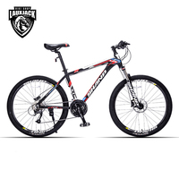 Shanp Mountain Bike Aluminum Frame 27 Speed 26 Wheel Microshift Hydraulic Mechanical Brake Microshift