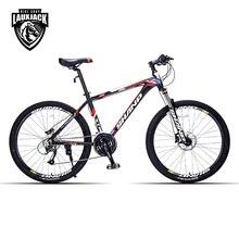 SHANP Mountain Bike Aluminum Frame 27 Speed 26″ Wheel Hydraulic/Mechanical Brake Microshift