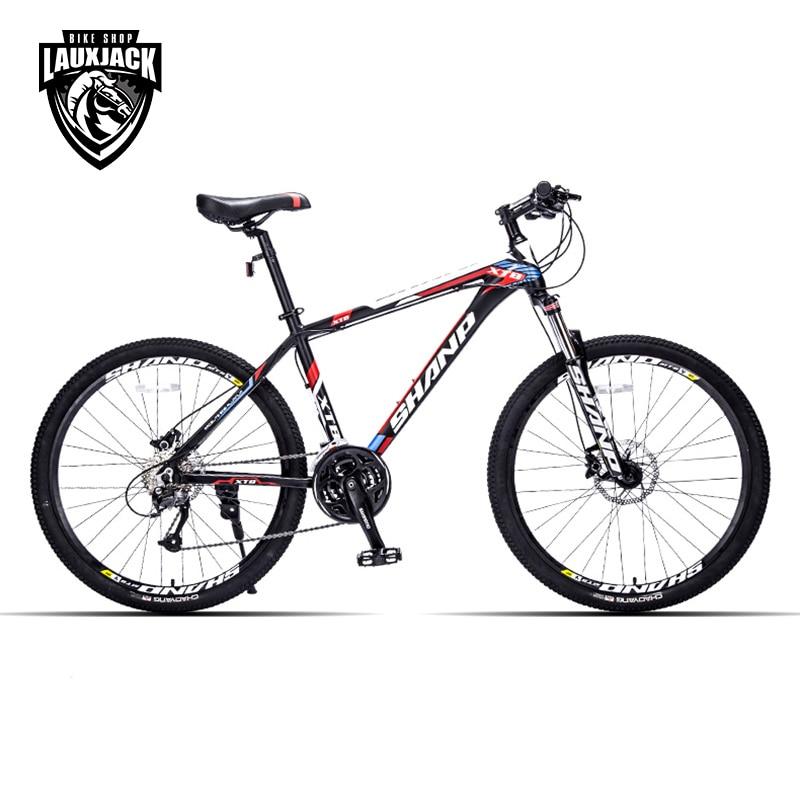 SHANP Telaio In Alluminio Mountain Bike 27 Velocità 26