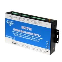 GSM 3G RTU Modbus I/O Modul Zu OPC Server AC Stromausfall/Rückgewinnung Überwachung Alarm Wireless Fernbedienung S272