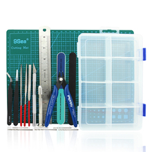OPHIR DIY Model Tool Model Assembly Tool Shaping Clay Carving Tool Set  Model Building Kits Hobby Tools MD003-MD007 ustar 91631 model plug in electric grinder set hobby finishing tools accessory diy
