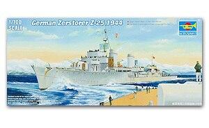 1944 Trumpeter 05787-1:700 German Zerstörer Z-25 Neu