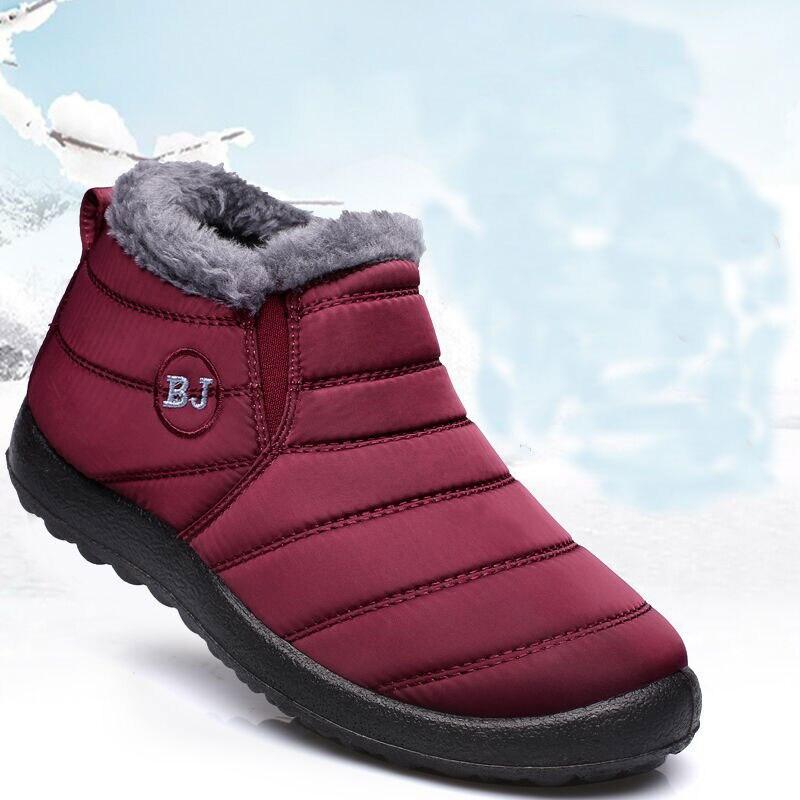 Hombres botas de invierno de 2018 zapatos de moda de los hombres botas de nieve de los hombres cómodos impermeable de invierno cálido zapatillas de deporte hombres zapatos de hombre