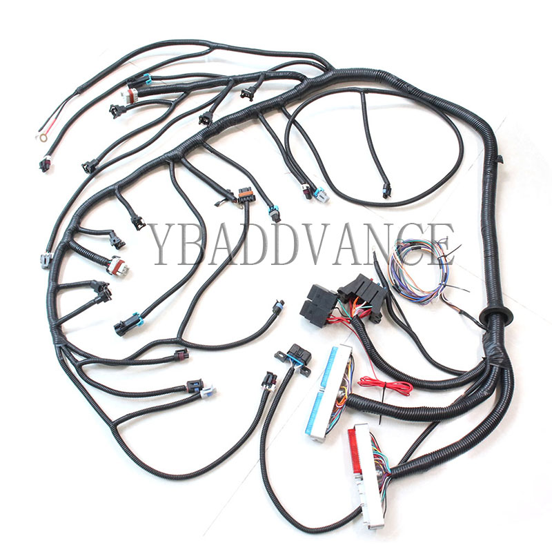 US $238.0 |High Quality Sdway Universal Fit Engine LS1 Manual Wiring on