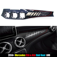 AMG Style For Mercedes CLA GLA Class Upgrade Centre Console Air Vent Surround Front Dashboard