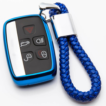 цена на KUKAKEY TPU Car Key Case Cover For Jaguar  XE XJ XJL XF C-X16 V12 Guitar F X Typ For Land Rover A9 Range Rover Car Styling