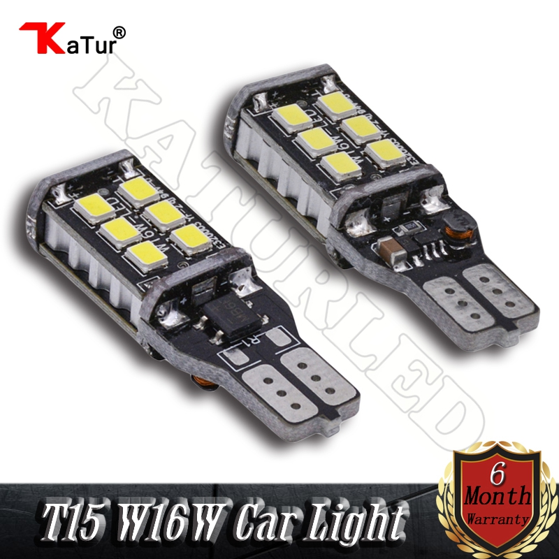 Canbus Error Free T15 W16w Led 921 912 906 904 902 Auto Led 800 Lumen Backup Reverse Light Amber White Red Lighting (Pack of 2) 6pcs extremely bright error free t15 led bulb 921 912 t15 wedge w16w led canbus bulbs stop backup reverse lights white 6000k 12v