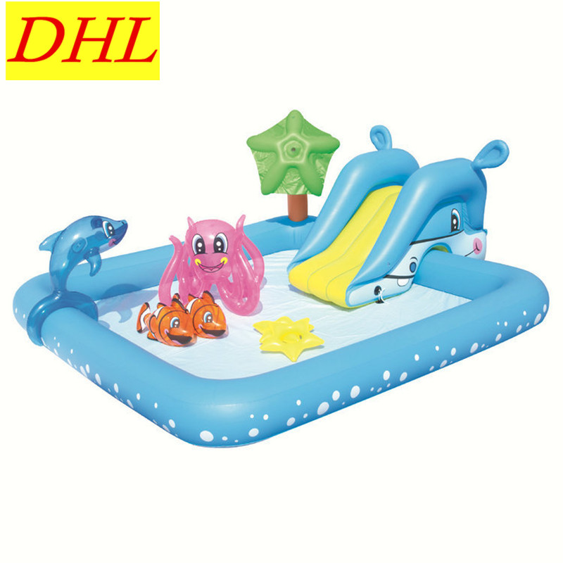 Inflatable Multifunction Color Swimming Pool Game Entertainment Center Outdoor WATER PARK Sunbathe Summer Toy L1939 dia 8m large inflatable swimming pool with dome and trampoline water fun game sports park