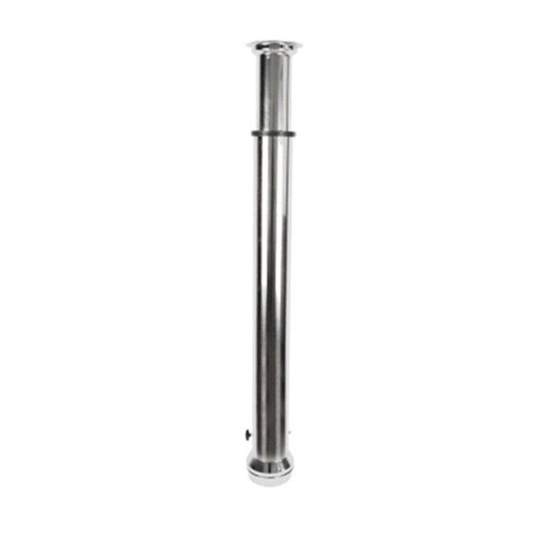Нержавеющая сталь Коммерческая выхлопная труба для барбекю Растяжка выхлопная трубка курительная 100 180 см высота регулируемый гриль партне