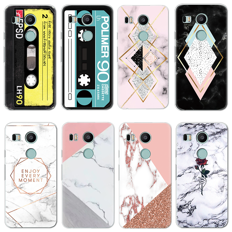 Soft TPU Phone Case for <font><b>LG</b></font> X Power 2 G4 G5 G6 Q6 Q7 K4 K5 K8 K10 <font><b>K11</b></font> Plus 2017 V20 V30 Nexus 5X Case Silicone Fundas Cover Coque image