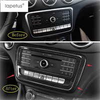 Lapetus For Mercedes Benz A Class W176 B Class W246 GLA X156 CLA C117 2014 2018 Central Air Conditioning Panel Cover Kit Trim