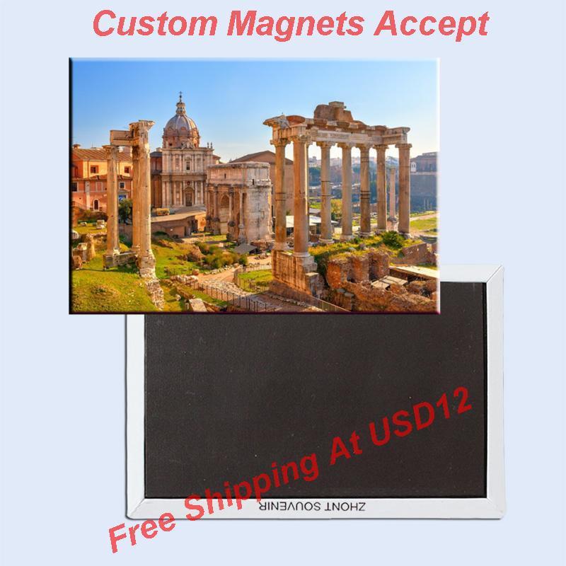 Souvenir Magnets ,Italy Rome Relics Souvenir Photo Fridge Magnet 5609 Travel Gift tourist attractions souvenir