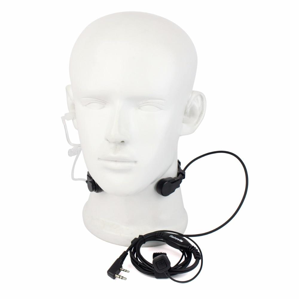 2 Pin Gola Accessori Walkie Talkie Auricolare Per Baofeng UV 5R Retevis H777 RT5R Per Kenwood Per TYT Radio Bidirezionale C9026A