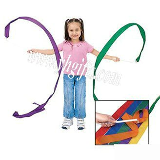 4PCS LOT Gymnastics belt Toy Sports Early educational toys Movement alility developing Kids toys Birthday gift