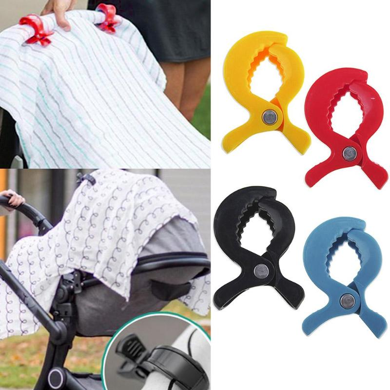 Baby Stroller Car Seat Accessories Clamp Pram Peg To Hook Cover Blanket Clip
