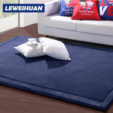 LEWEIHUAN 2cm Baby Play Mats Coral Fleece Blanket Game Carpet Living Room Children Bedroom Rugs Eco-friendly Blanket Gifts