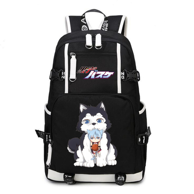 Kuroko's Basket ball Kuroko Tetsuya Backpack Cosplay Kuroko no Basuke Kagami Taiga Canvas Bag Schoolbag Travel Bags 2017 brand design black white sailor moon luna artemis hand bag samantha vega handbag cat ear shoulder bag messenger bag