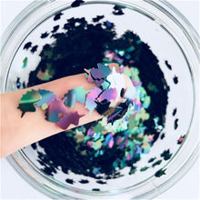 10g/Lot 5*8mm Ultrathin Unicorn Shape Nails Sequins For Nail Art Decoration Body Art Painting Wedding Gift DIY Glitter Sequin(China)