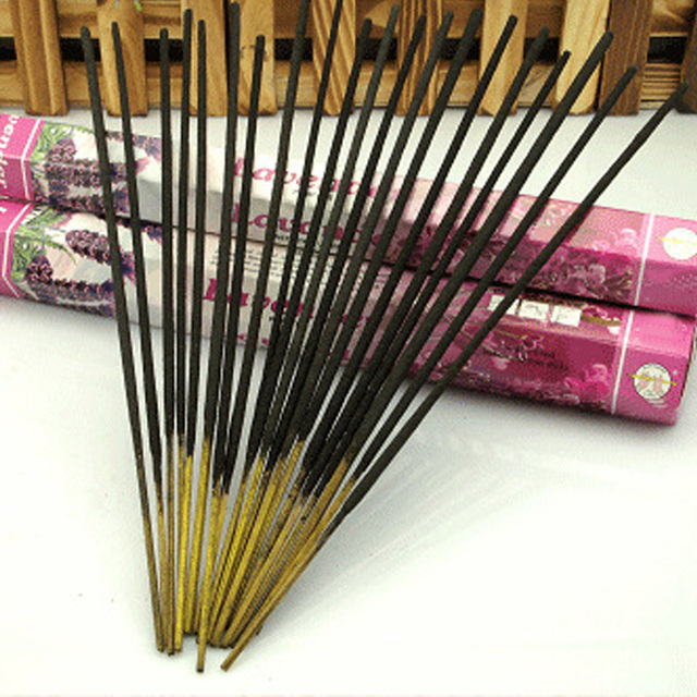 Lavender Indian Aromatherapy Fragrance Sticks 20 pcs Set