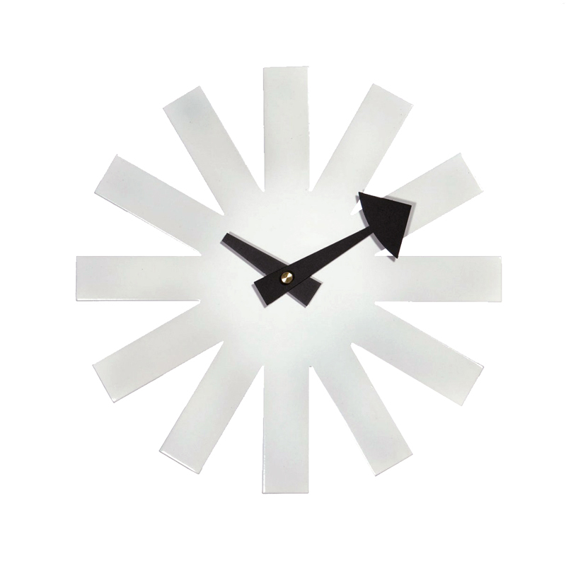 Special Nelson Asterisk Clock Ikea Living Room European Imported Art
