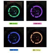 1 unids Uds.luces LED de bicicleta rueda de neumáticos